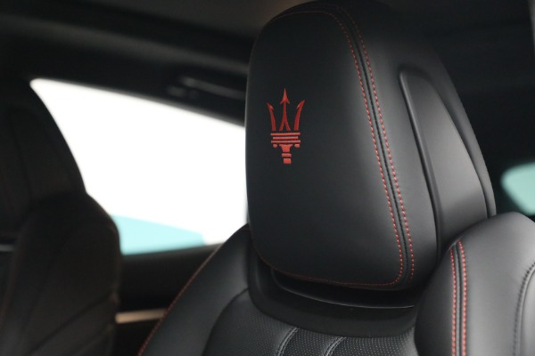 New 2022 Maserati Levante GT for sale Call for price at Rolls-Royce Motor Cars Greenwich in Greenwich CT 06830 16