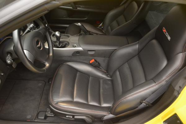 Used 2006 Chevrolet Corvette Z06 Hardtop for sale Sold at Rolls-Royce Motor Cars Greenwich in Greenwich CT 06830 13