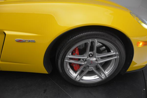 Used 2006 Chevrolet Corvette Z06 Hardtop for sale Sold at Rolls-Royce Motor Cars Greenwich in Greenwich CT 06830 18