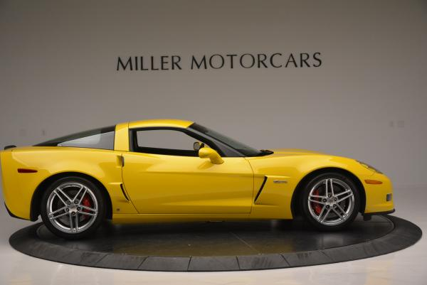Used 2006 Chevrolet Corvette Z06 Hardtop for sale Sold at Rolls-Royce Motor Cars Greenwich in Greenwich CT 06830 8