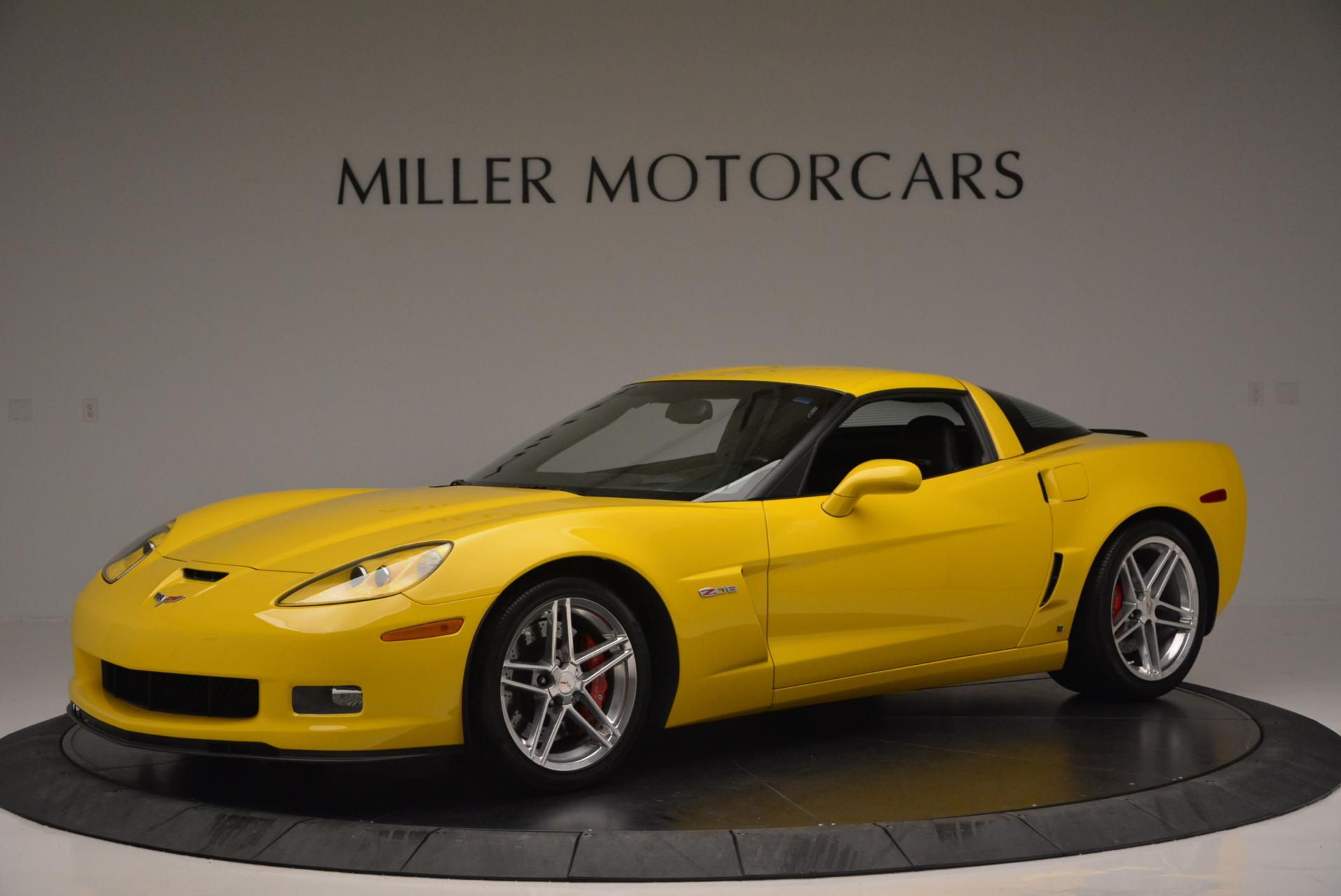 Used 2006 Chevrolet Corvette Z06 Hardtop for sale Sold at Rolls-Royce Motor Cars Greenwich in Greenwich CT 06830 1