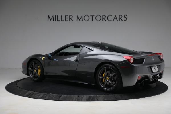 Used 2011 Ferrari 458 Italia for sale $229,900 at Rolls-Royce Motor Cars Greenwich in Greenwich CT 06830 4