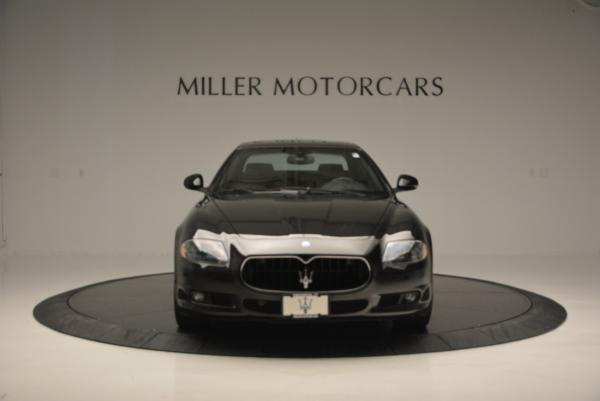 Used 2011 Maserati Quattroporte Sport GT S for sale Sold at Rolls-Royce Motor Cars Greenwich in Greenwich CT 06830 12