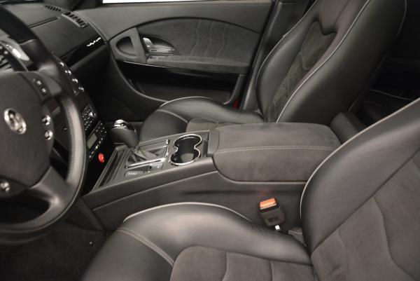 Used 2011 Maserati Quattroporte Sport GT S for sale Sold at Rolls-Royce Motor Cars Greenwich in Greenwich CT 06830 15
