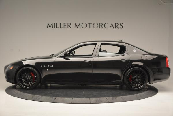 Used 2011 Maserati Quattroporte Sport GT S for sale Sold at Rolls-Royce Motor Cars Greenwich in Greenwich CT 06830 3