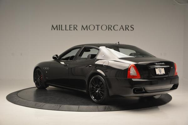 Used 2011 Maserati Quattroporte Sport GT S for sale Sold at Rolls-Royce Motor Cars Greenwich in Greenwich CT 06830 5