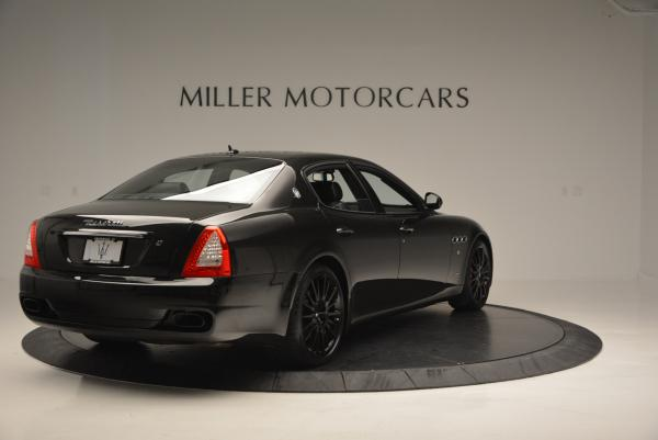 Used 2011 Maserati Quattroporte Sport GT S for sale Sold at Rolls-Royce Motor Cars Greenwich in Greenwich CT 06830 7
