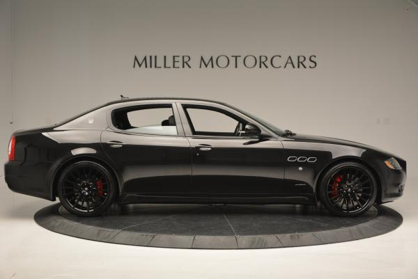 Used 2011 Maserati Quattroporte Sport GT S for sale Sold at Rolls-Royce Motor Cars Greenwich in Greenwich CT 06830 9