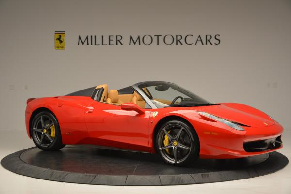 Used 2013 Ferrari 458 Spider for sale Call for price at Rolls-Royce Motor Cars Greenwich in Greenwich CT 06830 10