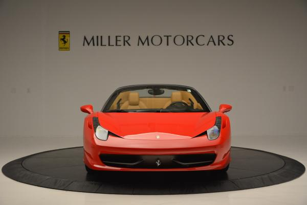 Used 2013 Ferrari 458 Spider for sale Call for price at Rolls-Royce Motor Cars Greenwich in Greenwich CT 06830 12