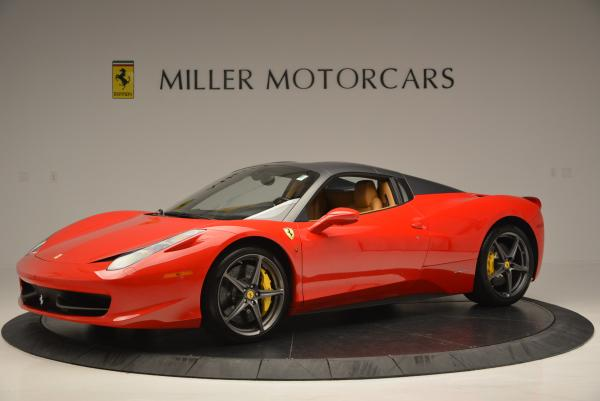 Used 2013 Ferrari 458 Spider for sale Call for price at Rolls-Royce Motor Cars Greenwich in Greenwich CT 06830 14