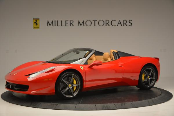 Used 2013 Ferrari 458 Spider for sale Call for price at Rolls-Royce Motor Cars Greenwich in Greenwich CT 06830 2