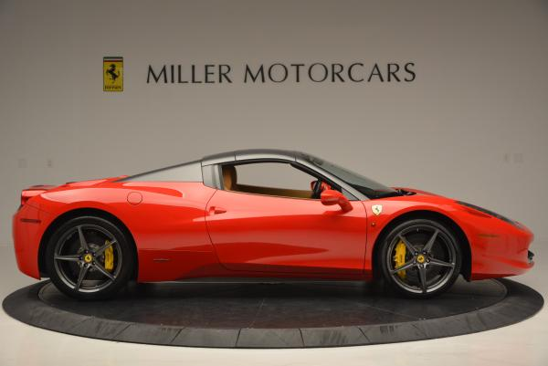 Used 2013 Ferrari 458 Spider for sale Call for price at Rolls-Royce Motor Cars Greenwich in Greenwich CT 06830 21