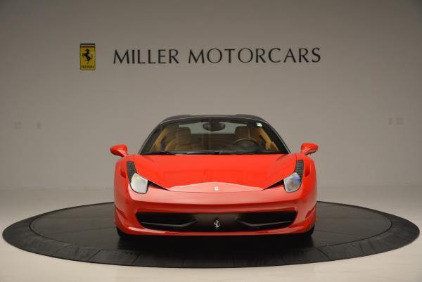 Used 2013 Ferrari 458 Spider for sale Call for price at Rolls-Royce Motor Cars Greenwich in Greenwich CT 06830 24