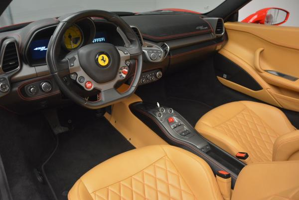 Used 2013 Ferrari 458 Spider for sale Call for price at Rolls-Royce Motor Cars Greenwich in Greenwich CT 06830 25