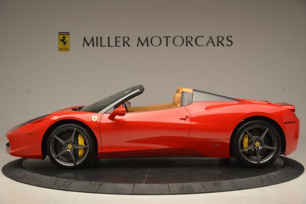 Used 2013 Ferrari 458 Spider for sale Call for price at Rolls-Royce Motor Cars Greenwich in Greenwich CT 06830 3