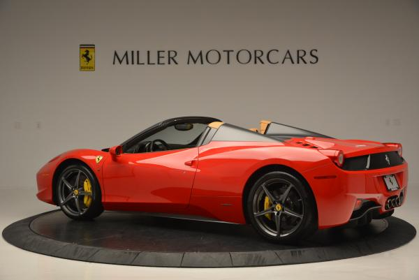 Used 2013 Ferrari 458 Spider for sale Call for price at Rolls-Royce Motor Cars Greenwich in Greenwich CT 06830 4