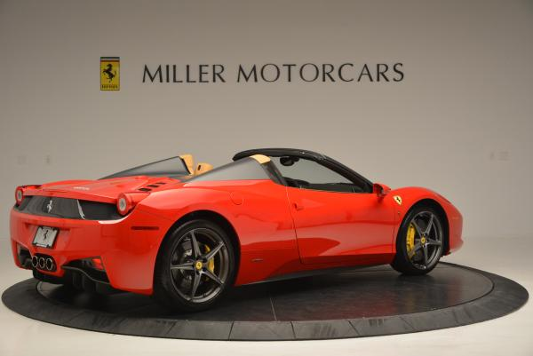 Used 2013 Ferrari 458 Spider for sale Call for price at Rolls-Royce Motor Cars Greenwich in Greenwich CT 06830 8