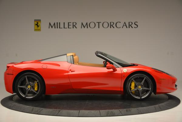 Used 2013 Ferrari 458 Spider for sale Call for price at Rolls-Royce Motor Cars Greenwich in Greenwich CT 06830 9