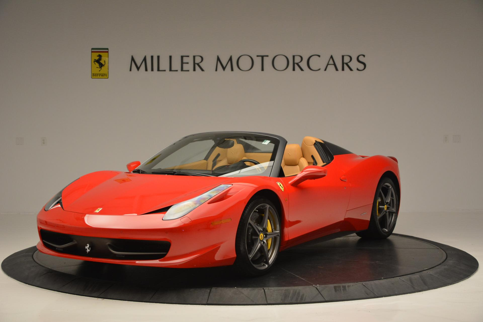 Used 2013 Ferrari 458 Spider for sale Call for price at Rolls-Royce Motor Cars Greenwich in Greenwich CT 06830 1