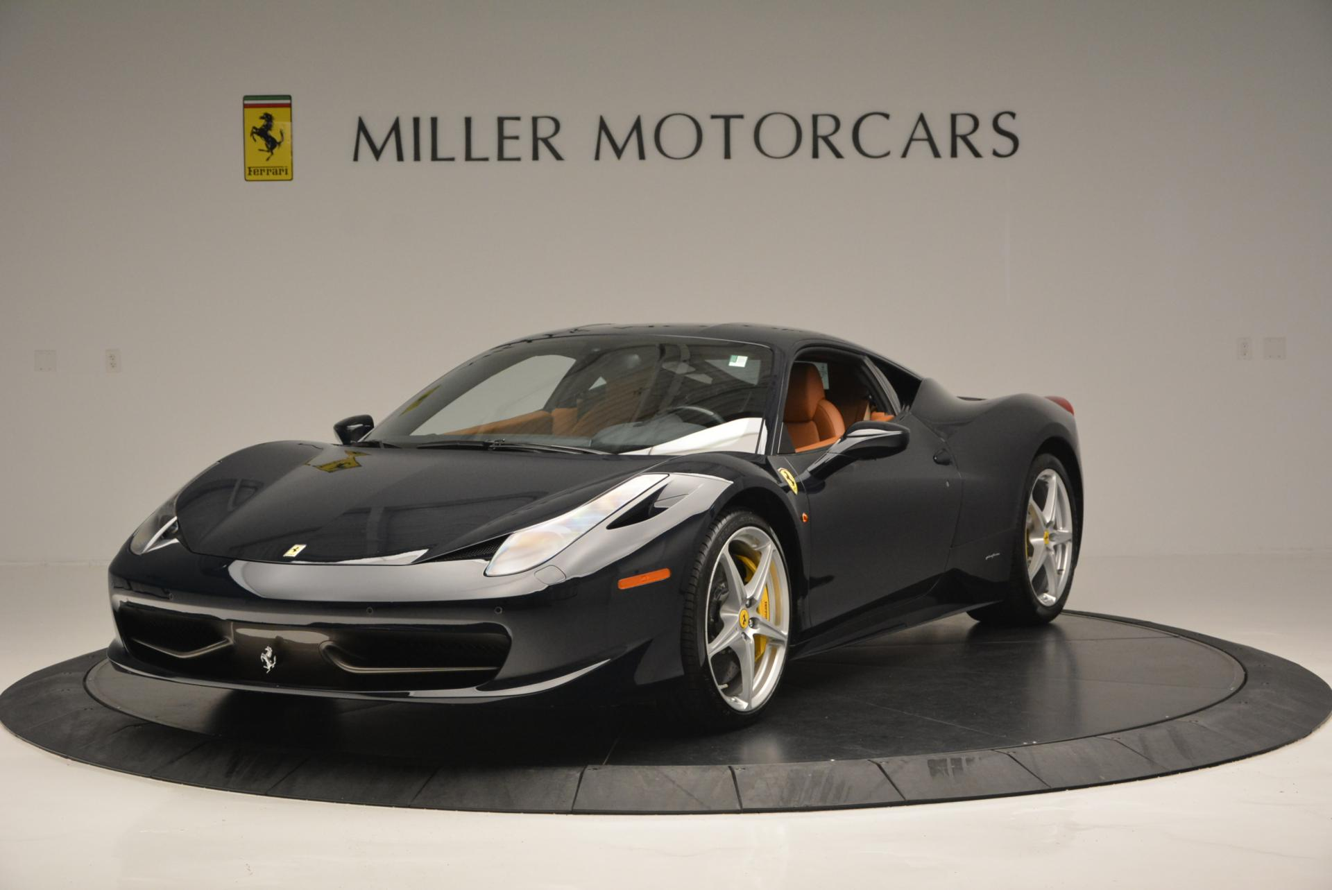 Used 2010 Ferrari 458 Italia for sale Sold at Rolls-Royce Motor Cars Greenwich in Greenwich CT 06830 1