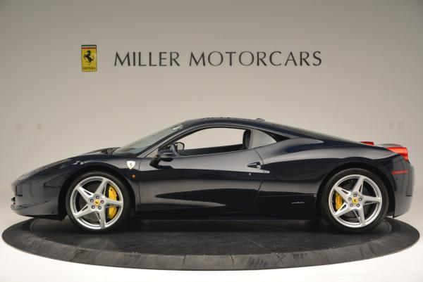 Used 2012 Ferrari 458 Italia for sale Sold at Rolls-Royce Motor Cars Greenwich in Greenwich CT 06830 3