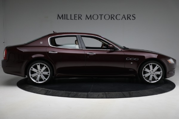 Used 2011 Maserati Quattroporte for sale Sold at Rolls-Royce Motor Cars Greenwich in Greenwich CT 06830 10