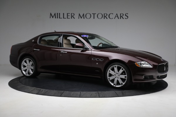 Used 2011 Maserati Quattroporte for sale Sold at Rolls-Royce Motor Cars Greenwich in Greenwich CT 06830 11