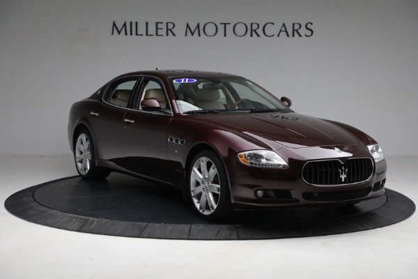Used 2011 Maserati Quattroporte for sale Sold at Rolls-Royce Motor Cars Greenwich in Greenwich CT 06830 12