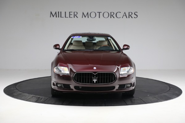 Used 2011 Maserati Quattroporte for sale Sold at Rolls-Royce Motor Cars Greenwich in Greenwich CT 06830 13