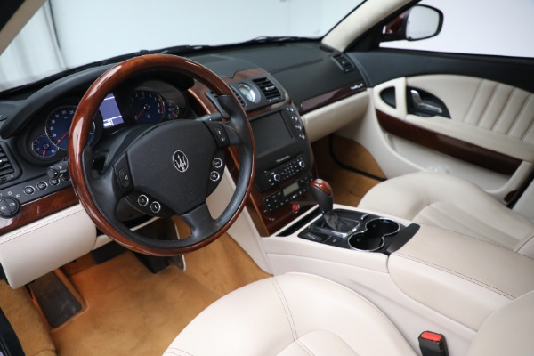 Used 2011 Maserati Quattroporte for sale Sold at Rolls-Royce Motor Cars Greenwich in Greenwich CT 06830 14