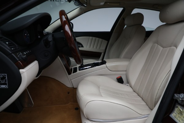 Used 2011 Maserati Quattroporte for sale Sold at Rolls-Royce Motor Cars Greenwich in Greenwich CT 06830 15