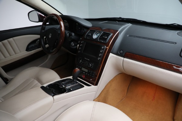 Used 2011 Maserati Quattroporte for sale Sold at Rolls-Royce Motor Cars Greenwich in Greenwich CT 06830 22