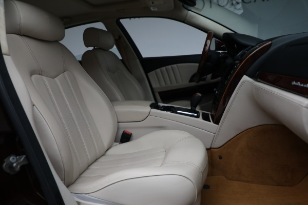 Used 2011 Maserati Quattroporte for sale Sold at Rolls-Royce Motor Cars Greenwich in Greenwich CT 06830 23