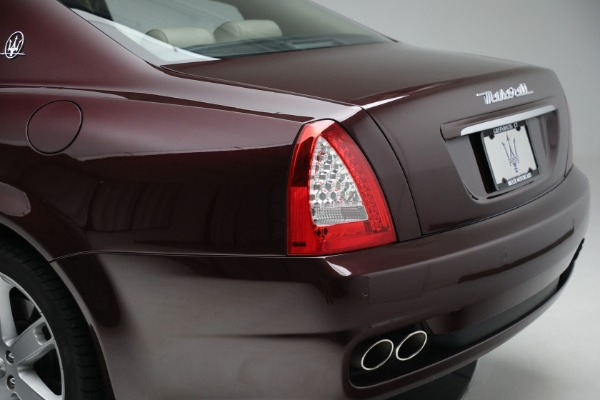 Used 2011 Maserati Quattroporte for sale Sold at Rolls-Royce Motor Cars Greenwich in Greenwich CT 06830 25