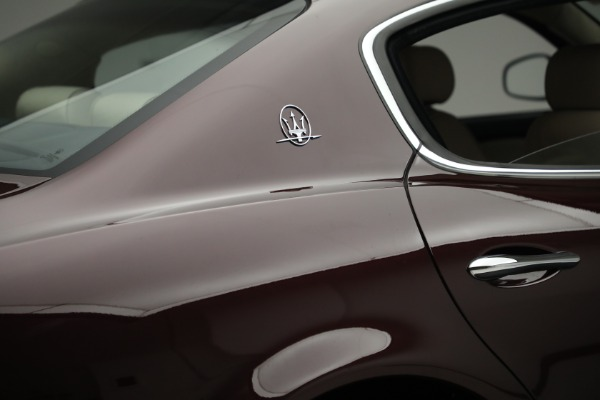 Used 2011 Maserati Quattroporte for sale Sold at Rolls-Royce Motor Cars Greenwich in Greenwich CT 06830 26