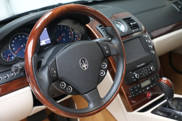 Used 2011 Maserati Quattroporte for sale Sold at Rolls-Royce Motor Cars Greenwich in Greenwich CT 06830 27