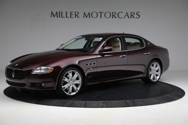 Used 2011 Maserati Quattroporte for sale Sold at Rolls-Royce Motor Cars Greenwich in Greenwich CT 06830 3