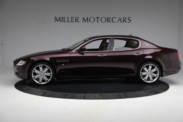 Used 2011 Maserati Quattroporte for sale Sold at Rolls-Royce Motor Cars Greenwich in Greenwich CT 06830 4