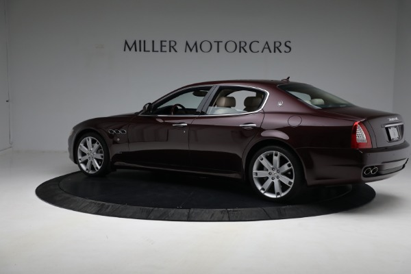 Used 2011 Maserati Quattroporte for sale Sold at Rolls-Royce Motor Cars Greenwich in Greenwich CT 06830 5