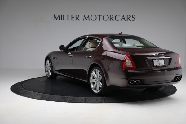 Used 2011 Maserati Quattroporte for sale Sold at Rolls-Royce Motor Cars Greenwich in Greenwich CT 06830 6