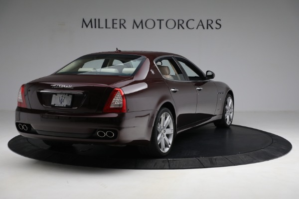 Used 2011 Maserati Quattroporte for sale Sold at Rolls-Royce Motor Cars Greenwich in Greenwich CT 06830 8
