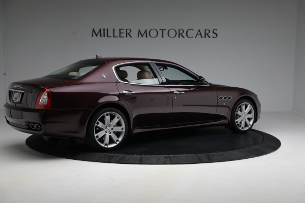 Used 2011 Maserati Quattroporte for sale Sold at Rolls-Royce Motor Cars Greenwich in Greenwich CT 06830 9