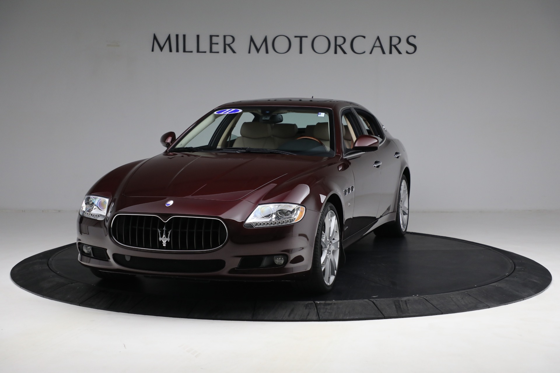 Used 2011 Maserati Quattroporte for sale Sold at Rolls-Royce Motor Cars Greenwich in Greenwich CT 06830 1