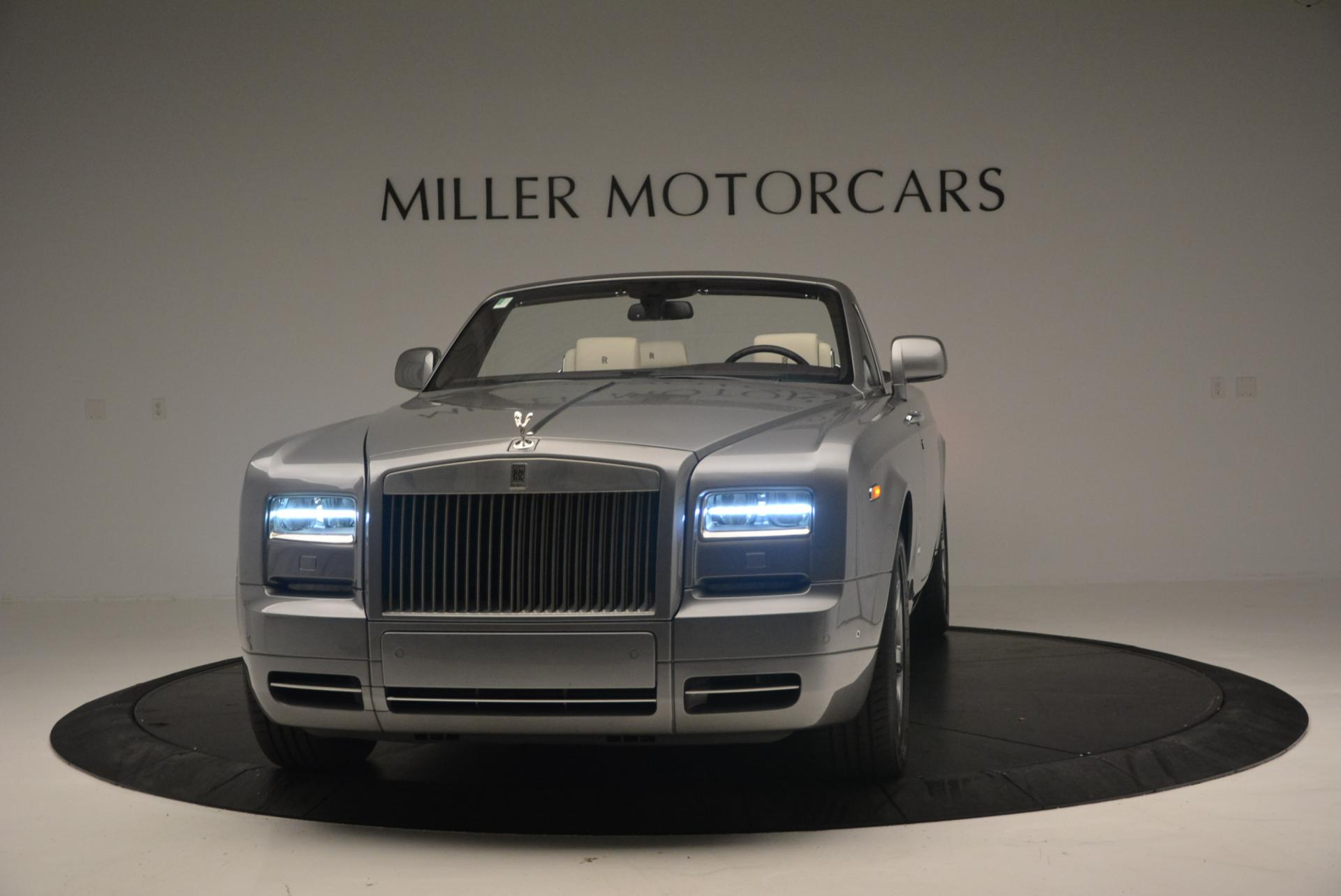 Used 2015 Rolls-Royce Phantom Drophead Coupe for sale Sold at Rolls-Royce Motor Cars Greenwich in Greenwich CT 06830 1