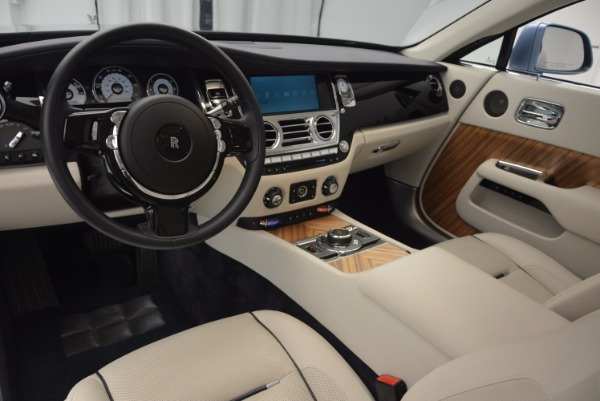 Used 2015 Rolls-Royce Wraith for sale Sold at Rolls-Royce Motor Cars Greenwich in Greenwich CT 06830 24