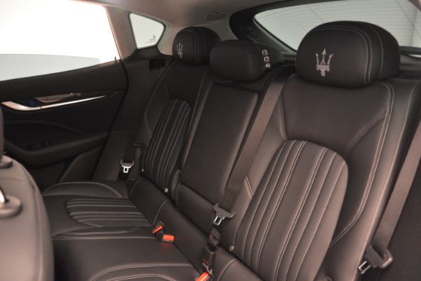 New 2017 Maserati Levante 350hp for sale Sold at Rolls-Royce Motor Cars Greenwich in Greenwich CT 06830 18