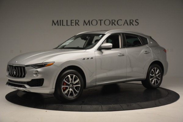 New 2017 Maserati Levante 350hp for sale Sold at Rolls-Royce Motor Cars Greenwich in Greenwich CT 06830 2