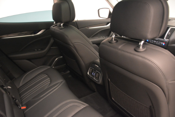 New 2017 Maserati Levante 350hp for sale Sold at Rolls-Royce Motor Cars Greenwich in Greenwich CT 06830 22