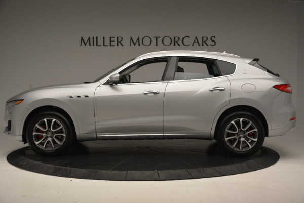 New 2017 Maserati Levante 350hp for sale Sold at Rolls-Royce Motor Cars Greenwich in Greenwich CT 06830 3